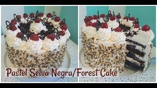 Receta Paso a Paso Pastel Selva Negra/Forest Cake Exquisito.