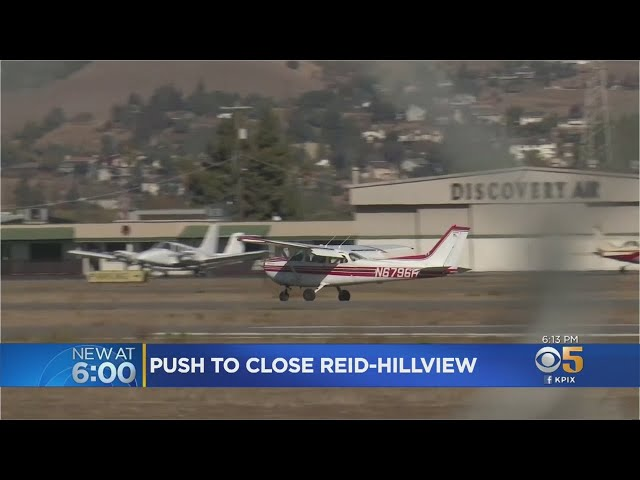 Community Groups Press For Closure Of Reid-Hillview Airport In San Jose Over Lead Emissions