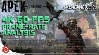 Apex Legends: 4K 60FPS Frame-Rate Analysis: Xbox One X