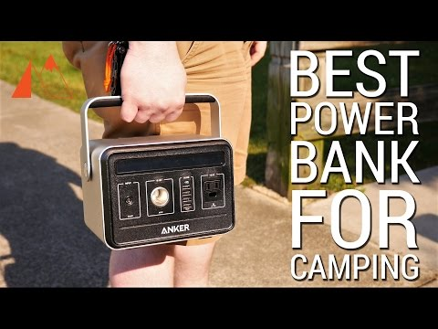 The best power bank for camping (Anker PowerHouse review)