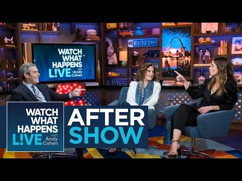 After : Amanda Peet Rates Ashton Kutcher's Kissing  WWHL