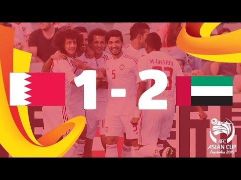 Bahrain vs UAE: AFC Asian Cup Australia 2015 (Match 13)