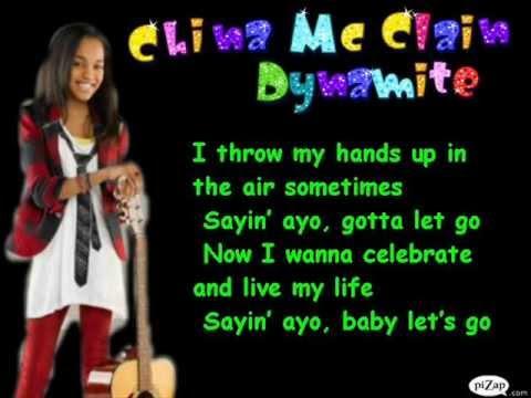 China Anna McClain-Dynamite Karaoke
