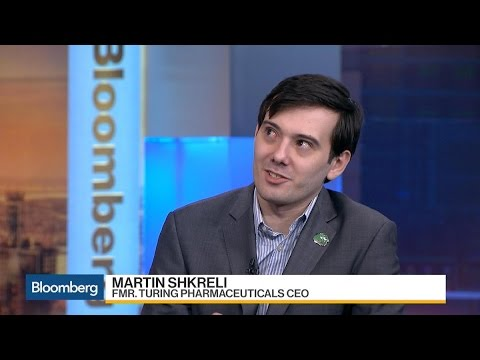 Shkreli: Price Increase Has Stuck, Happy With That