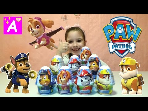 Вкуснейшее блюдо Щенячий патруль Новая серия Пудинг с сюрпризом Распаковка Игрушки PAW PATROL Видео для детей