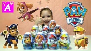 Щенячий Патруль Новая Серия Сюрприз Пудинг с Сюрпризом Распаковка Игрушки PAW PATROL Видео для детей