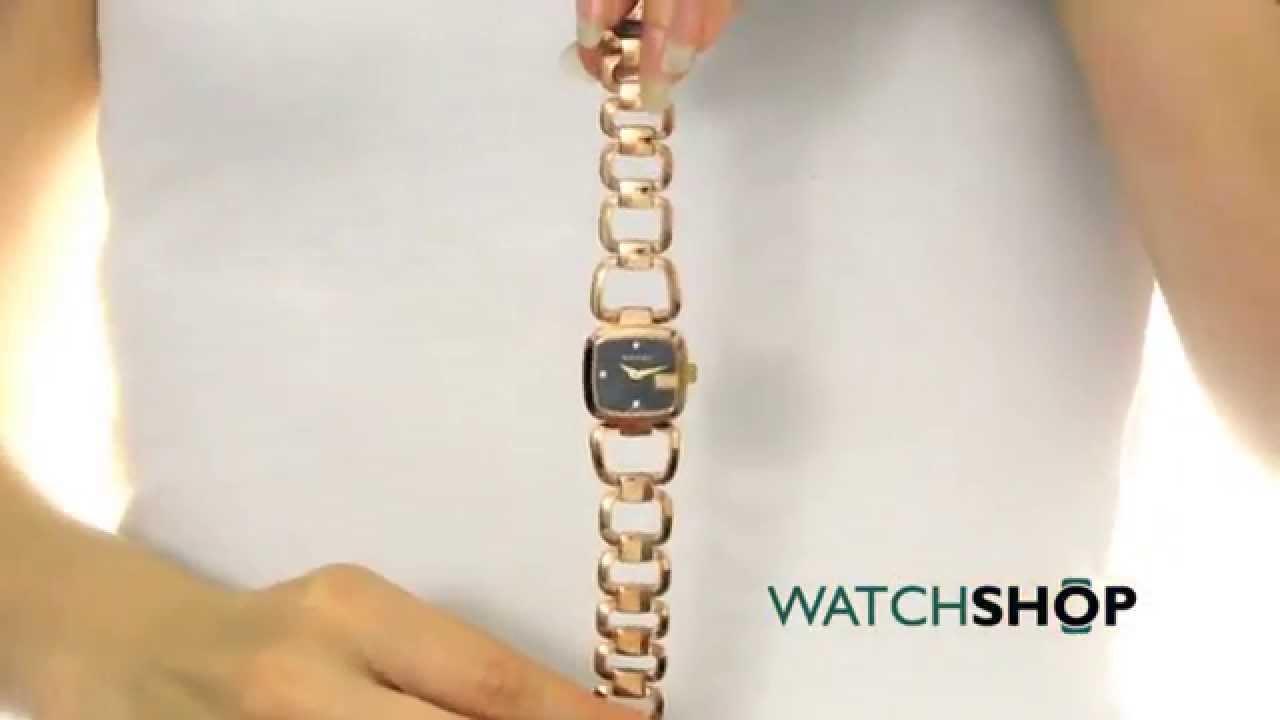 43ae3f8647c Gucci Ladies  G- Diamond Watch (YA125512) - YouTube