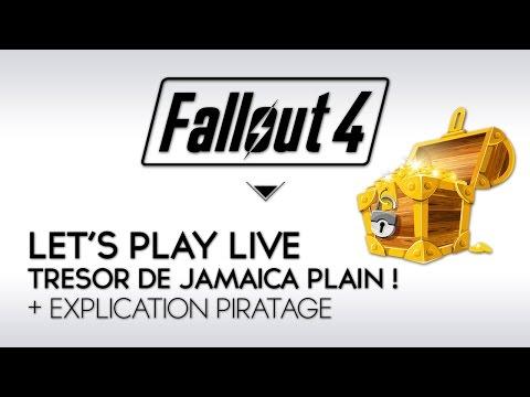 Fallout 4 Let's Play Live FR : Episode 27, Trésor de Jamaica Plain + Explication Piratage