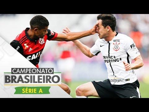 Melhores Momentos - Corinthians 1 x 1 Flamengo - Campeonato Brasileiro (30/07/17)