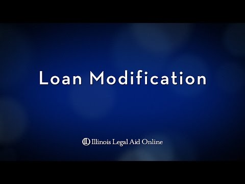 What is Loan Modification?