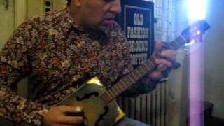 Cigar Box Guitar Robert Johnson Come On In My Kitchen cigarcitycbgs