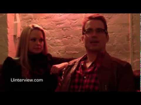 Matt Bomer and Marisa Coughlan. . SXSW