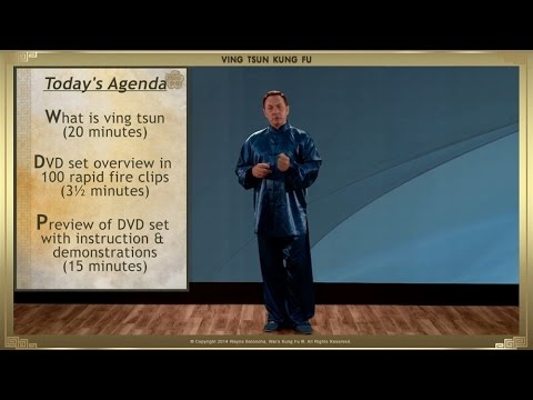 Wayne Belonoha - Ip Man Wing Chun Blu-Ray 01 - Step 01 of 108 - Ving Tsun Overview (v2)