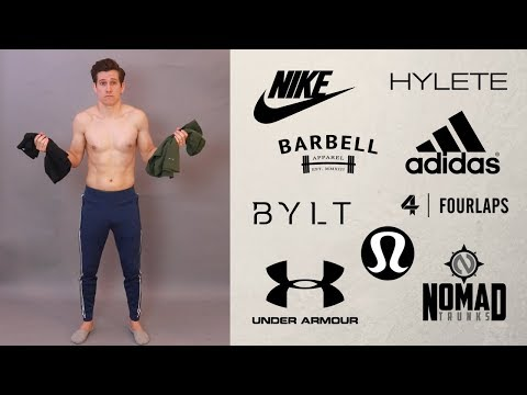 huge-try-on-workout-haul-//-men's-gym-pants-and-shorts-//-nike,-adidas,-under-armour-+-more