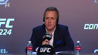 UFC 224: David Shaw on Launching Contender Series Brazil, Update on Hotel Robbery