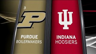 Purdue at Indiana - Men's Basketball Highlights