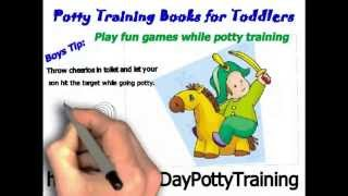 Potty Training Books for Toddlers - 3 Day Potty Training Chart