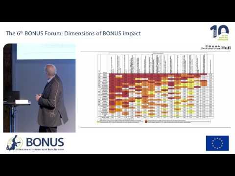 6th BONUS Forum: Mike Elliot,  University of Hull -