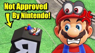 Beating Super Mario Odyssey NOT The Way Nintendo Intended It