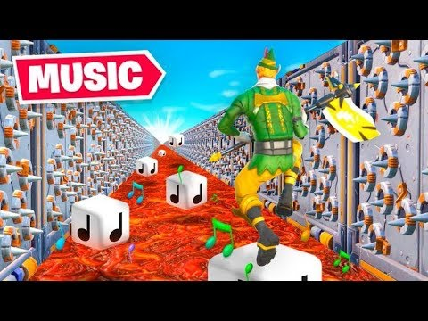*NEW* MUSICAL Deathrun In Fortnite!