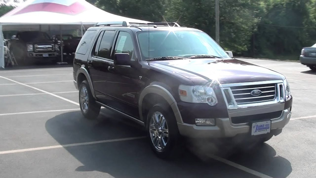 for sale 2007 ford explorer eddie baue 1 owner low. Black Bedroom Furniture Sets. Home Design Ideas