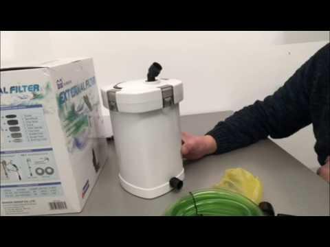Обзор SunSun внешний биологический наружный фильтр для аквариума  HW-503 Full, 350 л/ч