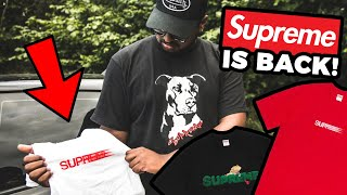 SUPREME IS BACK OPEN! (MOTION & SS20 SUMMER TEES)