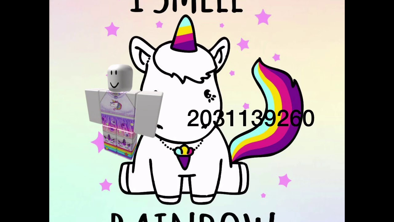 Hair Roblox Id Clothes Roblox 30 Unicorn Id Clothes Youtube