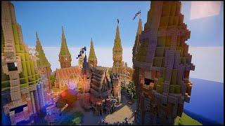 fantasy minecraft castle medieval