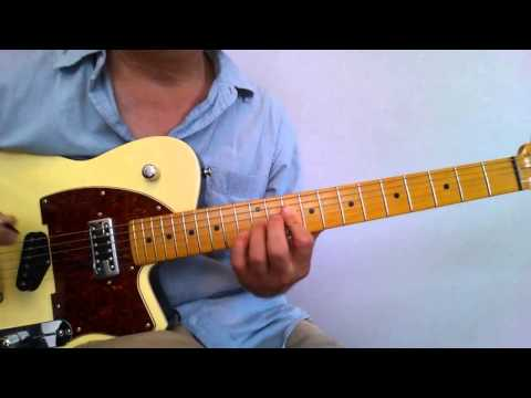 Guitar Lesson - Waitin' on a Woman Intro (Brad Paisley)