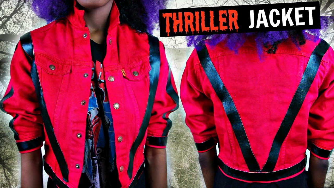 Diy thriller jacket youtube solutioingenieria Choice Image