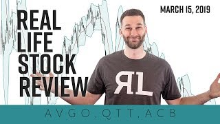 Real Life Stock Review - March 15, 2019