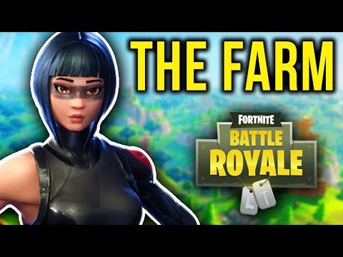 THIS IS WHY I ALWAYS LAND AT THE FARM! (Fortnite Battle Royale)