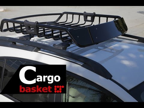 Universal Rooftop Roof Rack Crossbar Installation Guide