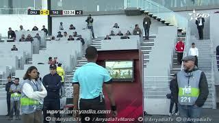 الدفاع الحسني الجديدي 0-1 الإتحاد البيضاوي هدف علي عشا  من نقطة الجزاء في الدقيقة 120+6. #كأس_العرش|