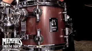 Sonor ProLite Studio 1 Drum Set 20/10/12/14 - Nussbaum Satin Gloss Stain - Play by Adam Nussbaum