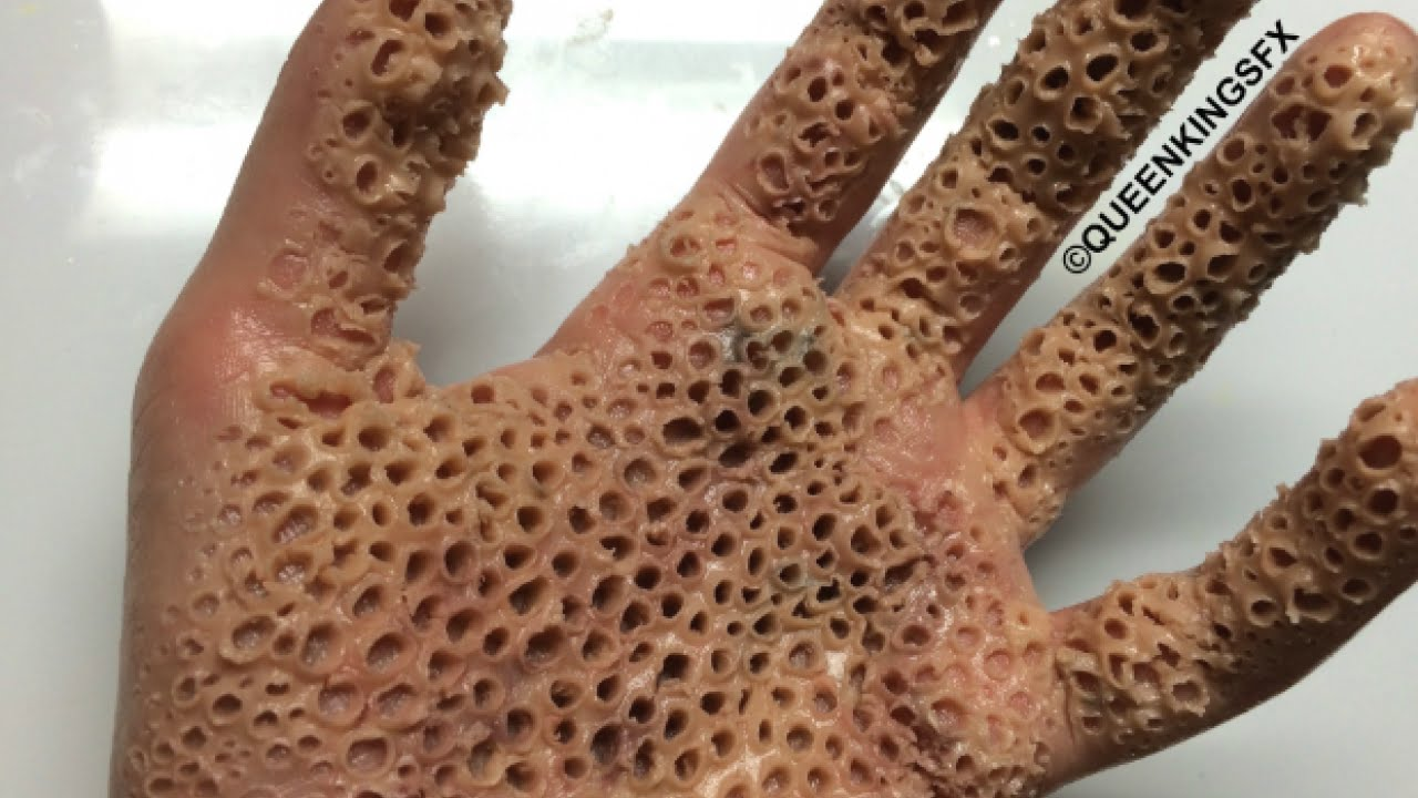 Trypophobia Hand Tutorial Sfx Queenkingsfx Youtube