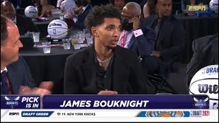Charlotte Hornets Selects James Bouknight At The 11th Pick