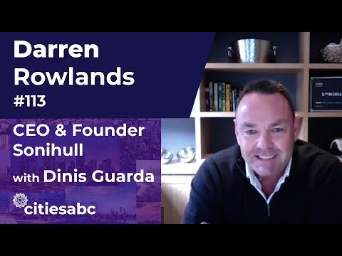 Darren Rowlands, CEO & Founder Sonihull - Innovation In Maritime And Supply Chain Industries