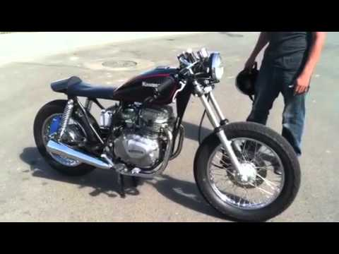 1981 KZ305 Cafe - YouTube