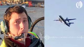 Traffic control audio from hijacked Horizon Air plane