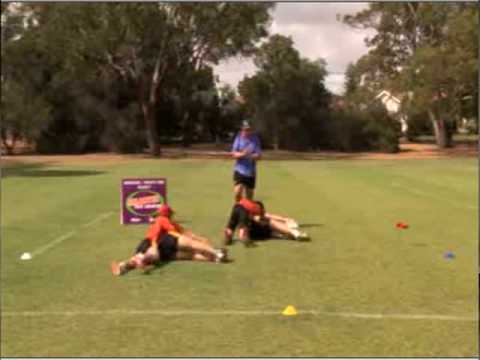 Ruck Cleanout Rugby Drills