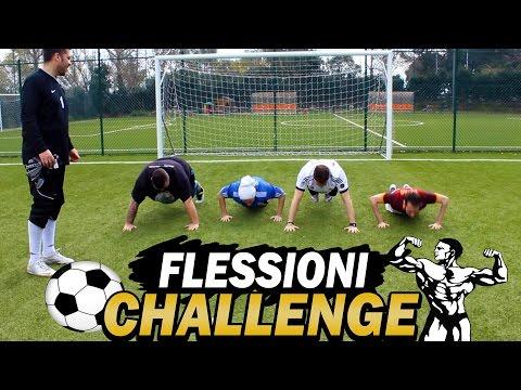 FLESSIONI CHALLENGE EPICA! w/ Dexter, J0ker, Sodin, Brazocrew