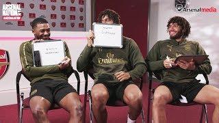 Iwobi, Maitland-Niles & Elneny | Teammates | Arsenal Nation LIVE