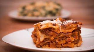 Como hacer Lasagna Bolognesa | Receta de Lasaña de Carne | Recetas de Cocina Italiana