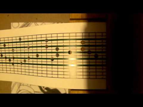 Spirited away theme on 15 note music box