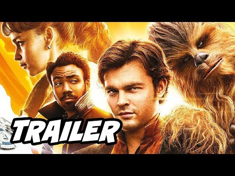 Solo A Star Wars Story Official Trailer - Han Solo and Chewbacca Easter Eggs