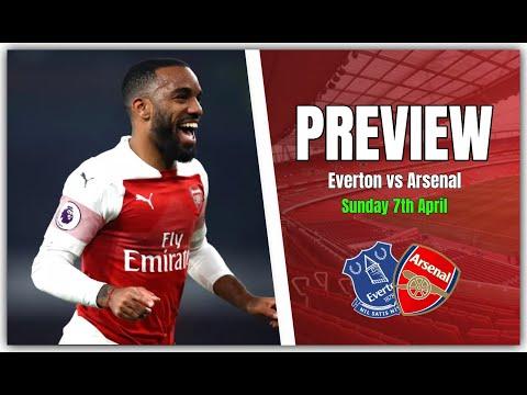 Arsenal vs everton line up