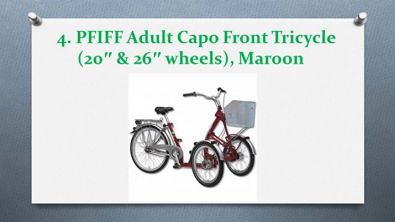 Best Adult Tricycles In 2017 Youtube