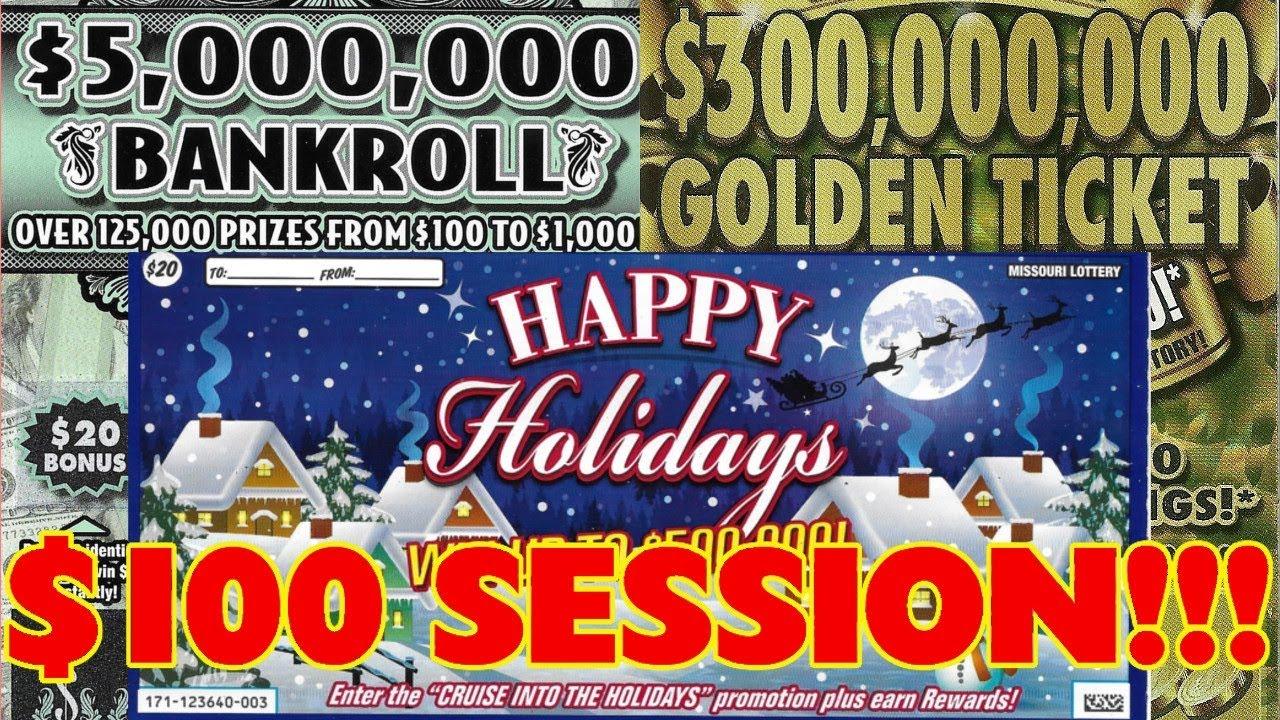 WINNERS & BONUS TICKETS! - $100 In Tickets! - Missouri & Arkansas Lottery  Scratchers!